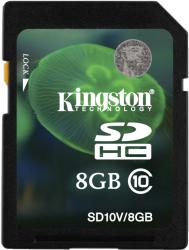 Фото флеш-карты Kingston SDHC 8GB Class 10