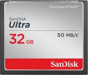 Фото флеш-карты SanDisk CF 32GB Ultra 50MB/s