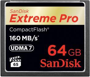 фото SanDisk Compact Flash CF 64GB Extreme Pro 160MB/s
