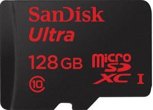 фото SanDisk MicroSDHC 128GB Class10 SDSDQUA-128G-G46A