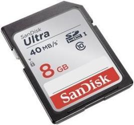 фото SanDisk SDHC 8GB Class10 Ultra UHS-I 40Mb/s