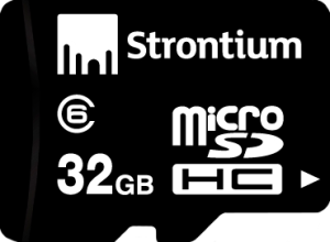 Фото флеш-карты Strontium MicroSD 32GB Class 10 + SD adapter