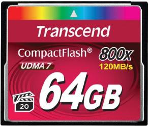 Фото флеш-карты Transcend CF 64GB 800X TS64GCF800