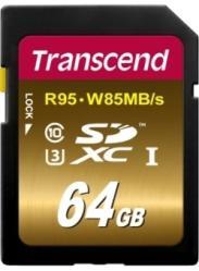 фото Transcend SDXC 64GB Class 10 UHS-I U3X