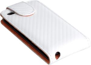 Фото кожаный чехол-обложка для apple ipod touch 4 clever case