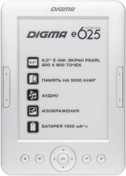 Фото электронной книги Digma e625
