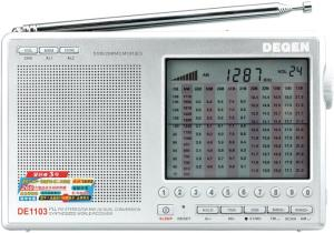 Фото радиоприемника Degen DE-1103