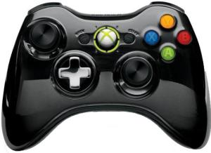 Джойстик для Microsoft Xbox 360 43G-00059 Chrome Black