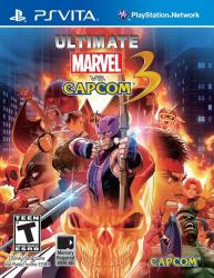 Ultimate Marvel vs Capcom 3 2012 PSVita