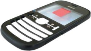 фото Корпус для Nokia Asha 200 передняя панель ORIGINAL