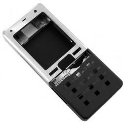 фото Корпус для Sony Ericsson T650i черный (корпус+кнопки)