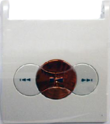 фото Панель для Sony Ericsson W350i флип с клавиатурой управления MP3 ORIGINAL