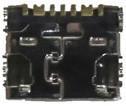 Разъем (коннектор) MicroUSB для Samsung Galaxy Mega 5.8 Duos i9152 ORIGINAL