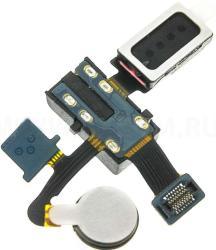 фото Шлейф для Samsung i9260 Galaxy Premier с разъемом гарнитуры, спикером и вибро ORIGINAL