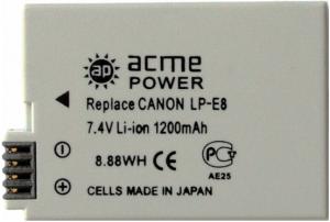 фото Аккумулятор для Canon EOS 550D AcmePower AP LP-E8