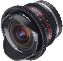 Фото объектива Samyang 8mm T3.1 Cine UMC Fish-eye II VDSLR Fujifilm X