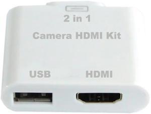Переходник HDMI для Apple iPad 2 Camera HDMI Kit SotMarket.ru 1490.000