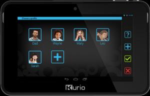 Фото детского планшета Kurio 7S