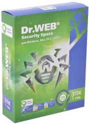 Dr.Web Security Space Pro 3 AHW-B-12M-3-A2 SotMarket.ru 2270.000