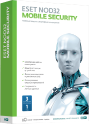 ESET NOD32 Mobile Security NOD32-ENM2-NS(BOX)-1-1 SotMarket.ru 1120.000