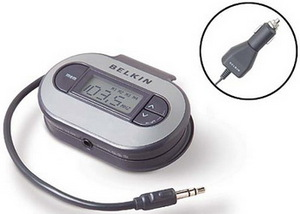 Фото FM трансмиттера для Apple iPhone 4 Belkin F8V3080eaBLKP