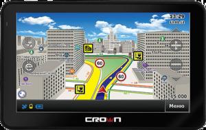 фото GPS навигатор Crown CMGS-5899