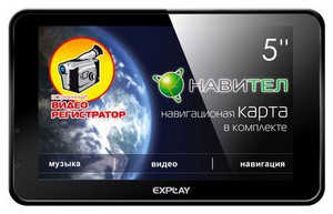 фото GPS навигатор Explay RS5 Camera Navitel