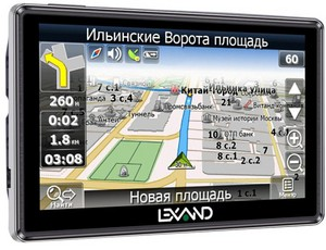 фото GPS навигатор LEXAND STR-5350 HD