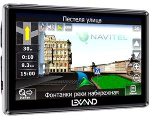 фото GPS навигатор LEXAND STR-5350 HD+ Navitel