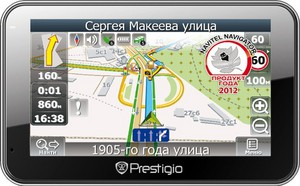 фото GPS навигатор Prestigio GeoVision 5660GPRSHD 4GB Navitel