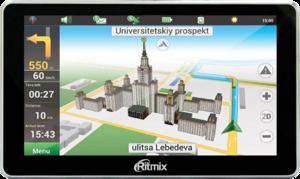 фото GPS навигатор Ritmix RGP-680