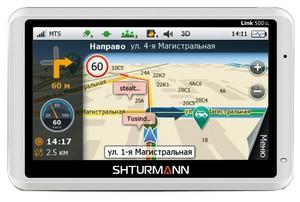фото GPS навигатор SHTURMANN Link 500SL