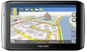 фото GPS навигатор TeXet TN-610 Voice HD Navitel