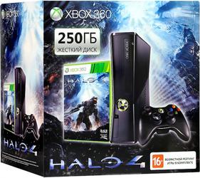 фото Игровая приставка Microsoft Xbox 360 250GB + Halo 4