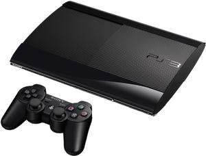 фото Игровая приставка Sony PlayStation 3 Super Slim 12GB + Wonderbook + Книга заклинаний + Move Starter Pack