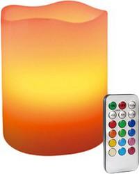 фото Необычный гаджет Светодиодная свеча С-CI65T/W с ПДУ