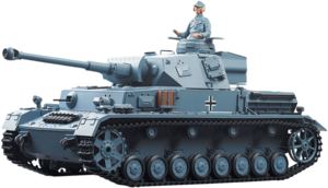 Фото Танк Heng Long PzKpfw.IV Ausf.F2.Sd.Kfz 1:16 3859-1
