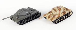 фото Танковый бой Heng Long ИС-2 1:48