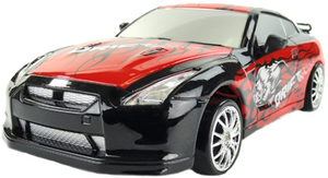 фото Р/у машинка HuangBo Toys Nissan Skyline GTR 1:24 666-210