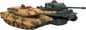 фото Танковый бой Huan Qi Тигр и Леопард 1:32
