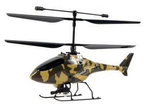 Модель минивертолёта Nine Eagles Combat Twister.  Соосная схема винтов обеспечивает высокую стабильно.