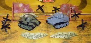 фото Танковый бой Pilotage Panther vs Sherman
