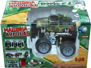 фото Р/у машинка Shantou Gepai Акробат Вооруженные Силы 1:18 333-342B