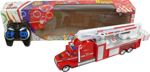фото Р/у машинка Shantou Gepai Пожарная с мыльн. пузырями 622855