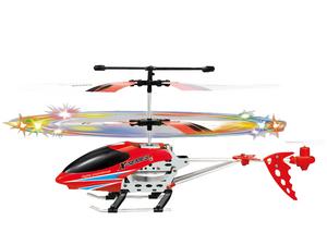 фото Р/у вертолет Mini RCH 0030-01 светящиеся лопасти