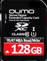 фото Карта памяти Карта памяти Qumo SD SDXC 128GB Class 10 UHS-I