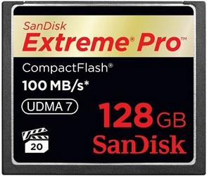 фото Карта памяти Карта памяти SanDisk Compact Flash CF 128GB Extreme Pro 100MB/s