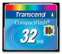Фото флеш-карты Transcend CF 32MB 80x