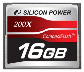 фото Карта памяти Карта памяти Silicon Power Compact Flash CF 16GB 200x
