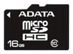 фото Карта памяти Карта памяти ADATA MicroSDHC 16GB Class 10 + SD adapter